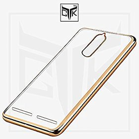 Lenovo K6 Golden Chrome Soft TPU Back Cover