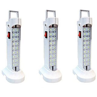 10 w (578) Rechargeable Emergency Light set of-3