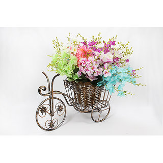 Small cycle flower basket