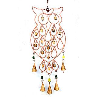 Phirk Craft Owl Iron Bell Handmade