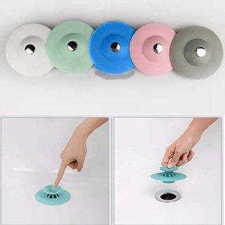 Xb Kitchen press bounce closed silicone floor drain bathroom deodorant anti-clogging plastic sink filter drain core