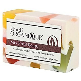 Khadi Organique Mix Fruit Soap 125 GM
