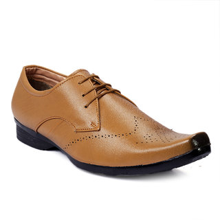 Brooke Men's Tan Formal Shoes