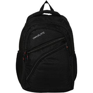 Travalate Polyester 50 Ltr Black Laptop Backpack