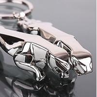 Jaguar Key Chain Full Metallic Keychain Car And Bike, Key Ring Keyring - 2 Pcs