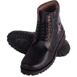 Austrich Black Combat Boot For Mens