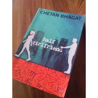 HALF GIRLFRIEND novel by CHETAN BHAGAT