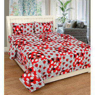 Angel Home Cotton Double Bed Bedsheet