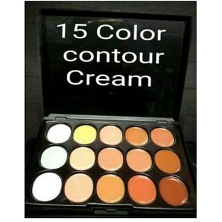 Professional 15 colour cream contour pallete (imported)