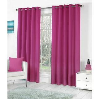 Angel homes Eyelet Pink Door Curtain (PS87)
