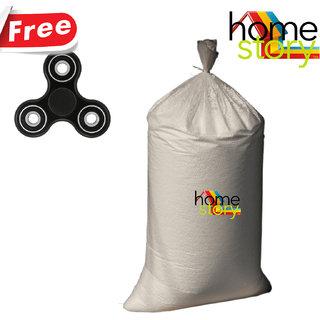 Home Story High Quality Bean Bag Refill for Bean Bag 1 KG(Free Fidget Spinner)
