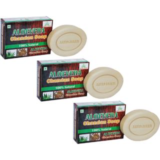 Aryanshakti Aloevera Chandan Soap (pack of 3)
