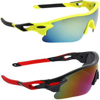 Zyaden Combo of Sport Sunglasses - COMBO-722