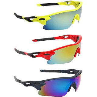 Zyaden Combo of Sport Sunglasses - COMBO-726