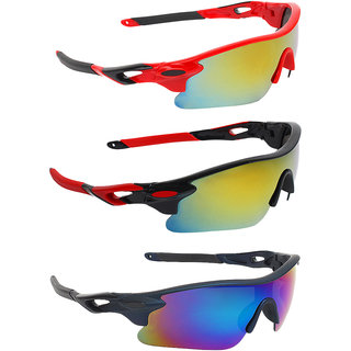 Zyaden Combo of Sport Sunglasses - COMBO-728