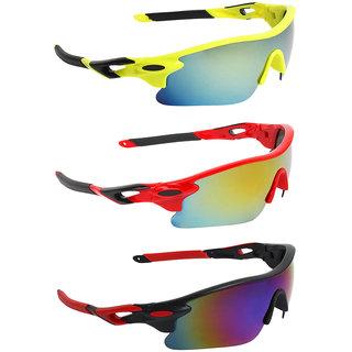 Zyaden Combo of Sport Sunglasses - COMBO-730