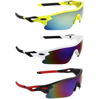 Zyaden Combo of Sport Sunglasses - COMBO-731