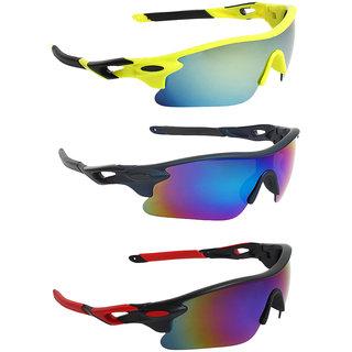 Zyaden Combo of Sport Sunglasses - COMBO-732