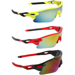 Zyaden Combo of Sport Sunglasses - COMBO-733