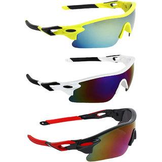 Zyaden Combo of Sport Sunglasses - COMBO-734