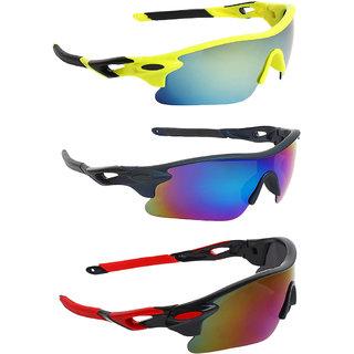 Zyaden Combo of Sport Sunglasses - COMBO-735