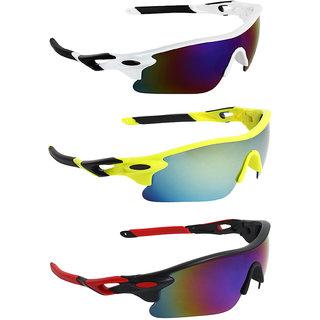Zyaden Combo of Sport Sunglasses - COMBO-737