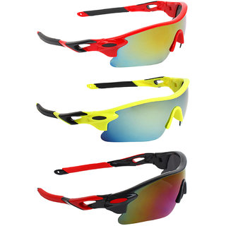 Zyaden Combo of Sport Sunglasses - COMBO-746