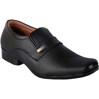 Austrich Men's Black Decent Formal Shoes
