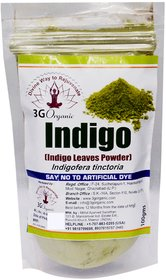 Indigo Powder Organic 500 Gms Indigofera Tinctoria Natural Organic Hair Colour