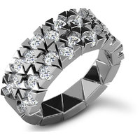Sparkles 1.63ct Diamond Ring In 18 Kt Gold & Real Diamonds