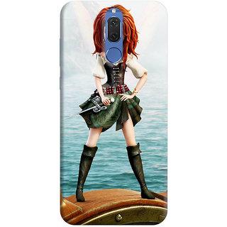 FurnishFantasy Back Cover for Huawei Honor 9i - Design ID - 0002