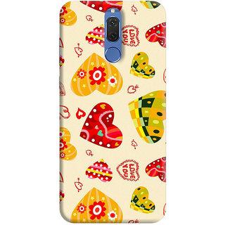 FurnishFantasy Back Cover for Huawei Honor 9i - Design ID - 0186
