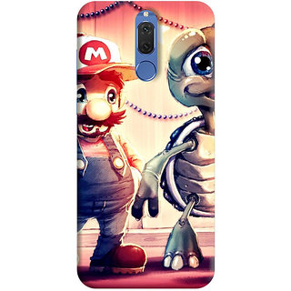 FurnishFantasy Back Cover for Huawei Honor 9i - Design ID - 0361