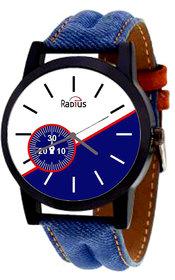Radius Leather Watch For Men  Boy