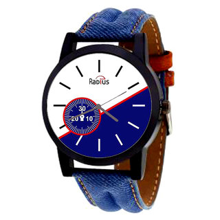 Radius Leather Watch For Men  Boy