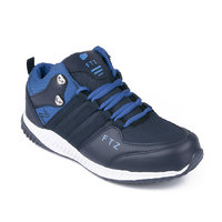 Fitze Hox 516 Black Royal Blue Casual Running Shoes