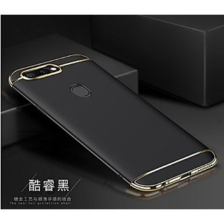 promo code dcee1 4c576 Luxury 3 IN 1 Matte Finish Hybrid Back Case Cover Oppo F5 (Black)