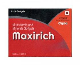 Cipla Maxirich Soft Gelatin Capsule - Pack Of 50