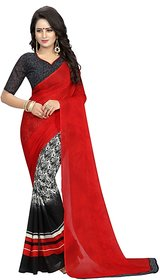 CHERRY BLACK (SPECIAL GEORGETTE)NEW -INDIAN-DESIGNER-PARTY-WEAR-Peria AppareL