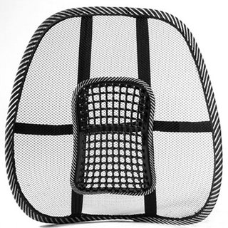 S4D Back Rest Comfortable Mesh Ventilate Car Seat Office Chair Massage Back  Lumbar 6892e4ac040f4