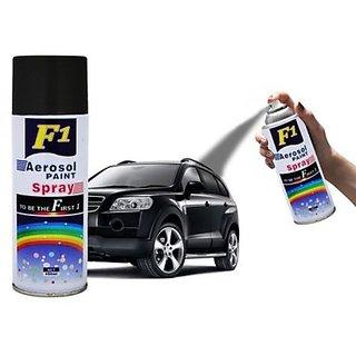 F1 AEROSOL SPRAY PAINT BLACK