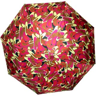 AH Multicolor Unisex Printed 3 Fold Fancy Folding Umbrella For Rains sun Protection and all weather (Manual Opening  Closing )