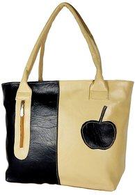 ALL DAY 365 Shoulder Bag (BLACK,TAN)