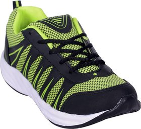 Sports Running Shoes Stylish Lightweight Yellow Tree Black Green Sports Shoes For Mens and Boy's