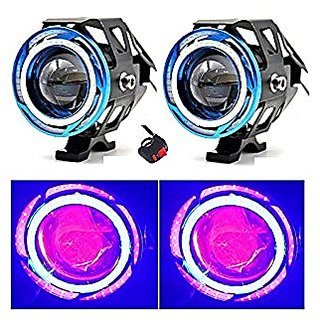 2Pcs U11 15w 3000Lm Bike Fog Light Projector Lamp Spot Beam Drl For KTM Duke 390