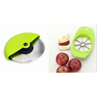Combo of Apple Cutter and Pizza Cutter