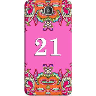 FurnishFantasy Back Cover for Huawei Enjoy 5 - Design ID - 1379