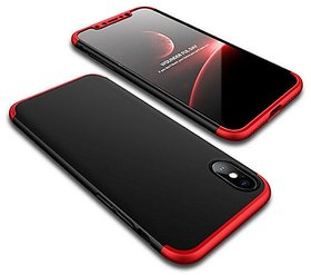 New GKK Premium 3 in 1 Dual Tone Back Cover Case For iPhone X iPhone 10
