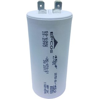 Epcos 45 Uf Ac 450v 50 60hz Start Running Capacitor