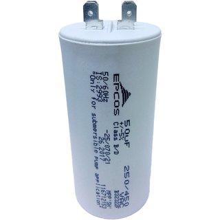 Epcos 50 uF AC 450V 50/60Hz Start / Running Capacitor